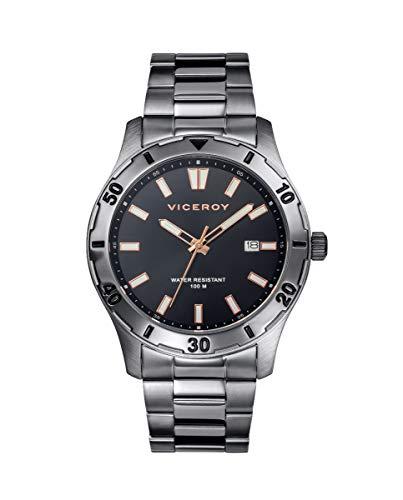 VICEROY - Reloj Acero IP Gris Brazalete Sr Va - 401131-17