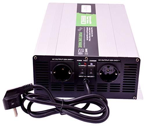 solartronics Spannungswandler USV 24V NPS 2000/4000 Watt Reiner Sinus UPS Inverter