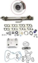 Upgraded Oil Cooler Kit & EGR Cooler Kit compatible with Ford 6.0L Powerstroke Diesel Turbo