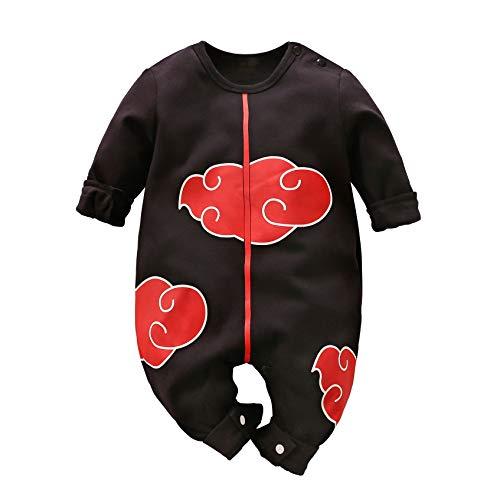 Bebé Ropa Cosplay Vestir Fuego Sombra recién Nacido Jumpsuits bebé Encantador Dibujos Animados Romper
