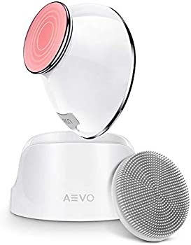 Aevo 2 in 1 Heated Massager & Sonic Vibrations Facial Cleansing Brush