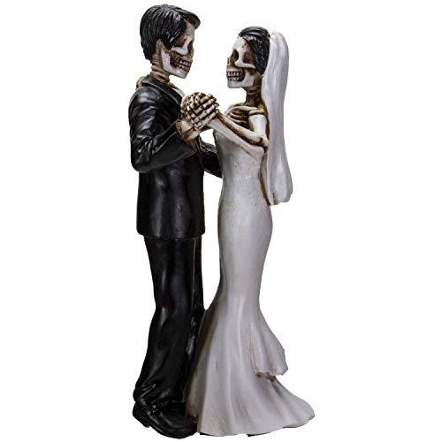 Pacific Giftware Love Never Dies Bride & Groom Dancing Wedding Couple Resin Figurine