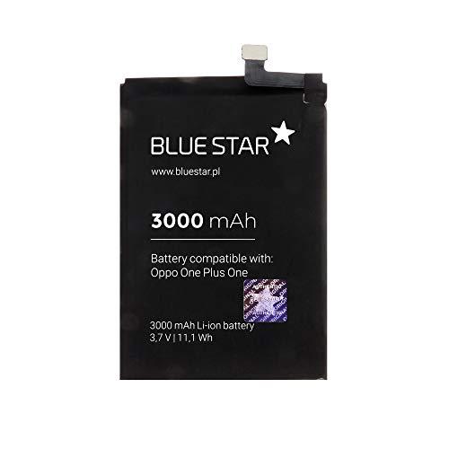Blue Star Premium - Batería de Li-Ion 3000mAh de Capacidad Carga Rapida 2.0 Compatible con el OnePlus 1 / OnePlus One/One+ 1