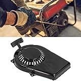 Arrancador de tracción, Equipo de jardín, Placa de Arranque, Adecuado para generador, Yamaha ET950, Accesorios de Placa de tracción, Reemplazo del arrancador de Recortadora de césped Negro