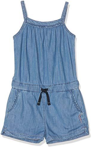 Pepe Jeans Mädchen Shelly Overall, Blau (Lightweight Denim Denim 000), 15-16 Jahre (Herstellergröße: 16)