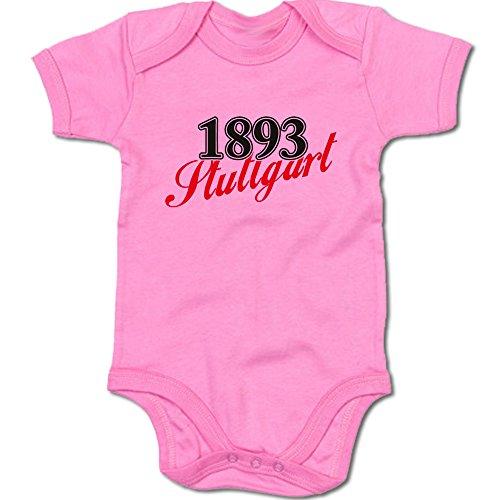 G-graphics 1893 Stuttgart Baby Body Suit Strampler 250.0273 (0-3 Monate, pink)