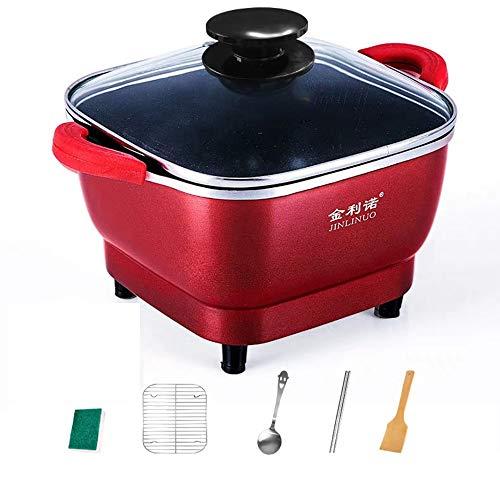 Hot Pot 700W studentenwohnheim elektrische fornuis multifunctioneel mini-pasta-pan, 1~3 personen 2,5 l