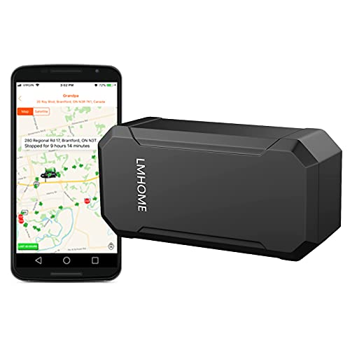 YangtongLK Magnet GPS Car Tracker for Vehicles Cars Wireless Mini Real-Time GPS Locator Tracking 90 Days Standby time, for Car Motorcycle Truck Kids Teens Old