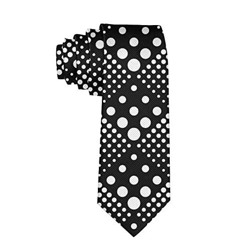 Corbatas de Hombre, Corbatas de Moda de Novedad para Hombres Corbata Delgada para Caballeros, Lazos de Moda para Negocios Formales Informales (Polka Dot qu62)-8x145cm