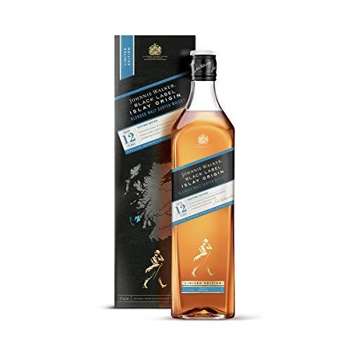 Johnnie Walker Black Label Islay Origin, Blended Scotch Whisky, Edición Limitada - 1000 ml
