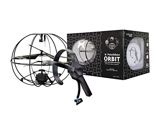 NeuroSky Puzzlebox Orbit Brain-Controlled Helicopter / MindWave Mobile Bundle