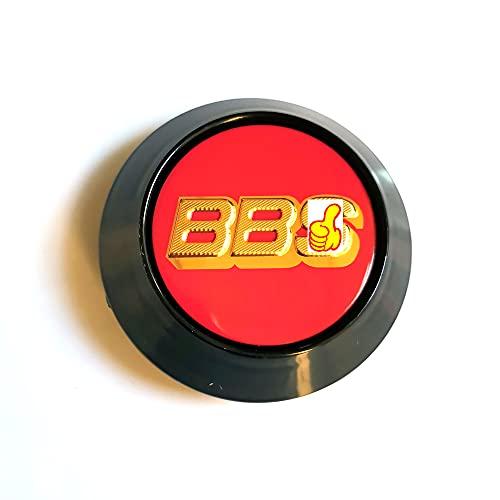4 unids/Set 68mm 88s Compatible con Advanti SSR Logo Vehicle Car Coche Centro Hub Cap Cap de 62mm Rim REFIT Creativo Insignia HUBCAP Polvo Cubierta Emblema (Color : R BBS HUB Cap)