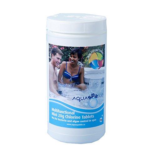 Aqua Sparkle Spa Multifunctional Chlorine 20g Tablets - Tub of 1 Kg