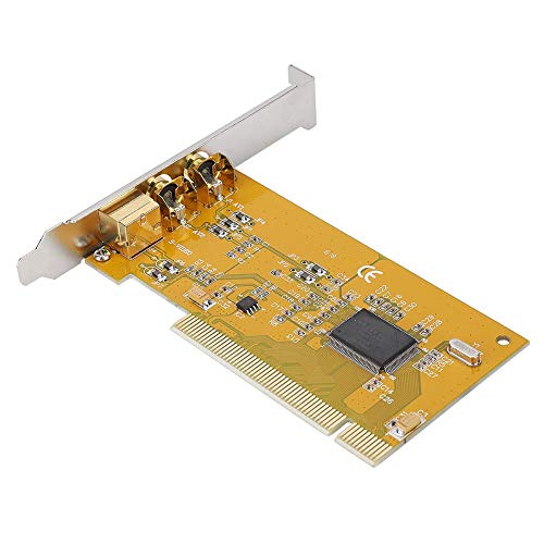 Bewinner AV PCI 1394 878A Tarjeta de Captura,Tarjeta de Adquisición de Datos de Video,Bus PCI,Tarjeta de Captura de Audio y Video de Vigilancia Portátil para Windows,Plug and Play