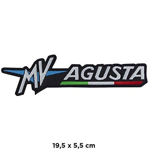 PATCHMANIA MV Agusta Motorrad Patch termoadesiva großen Rücken großen Rückenmotor Motorrad