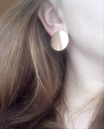 Dames oorbellen sets hoepels zomer glanzende geometrische sieraden ronde oorbellen voor vrouwen partij oorbellene0127
