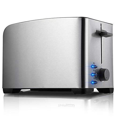 WZYJ Todos Horno Tostador de Acero Inoxidable tostadora multifunción Desayuno Máquina automática Tostadora Home Baking Máquina 220V,Negro