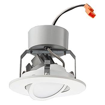 Lithonia Lighting 4G1MW LED 27K 90CRI M6 2700K LED Gimbal Module 4  Matte White