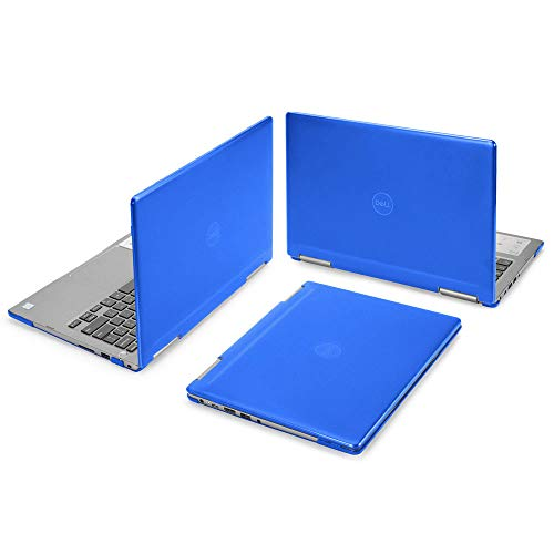 mCover Hard Shell Case for 13.3' Dell Inspiron 13 7375 (with AMD Ryzen CPU) 2-in-1 Convertible Laptop Computers (Dell I13-7375-AMD Blue)