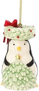 Lenox Festive Friends Penguin Ornament