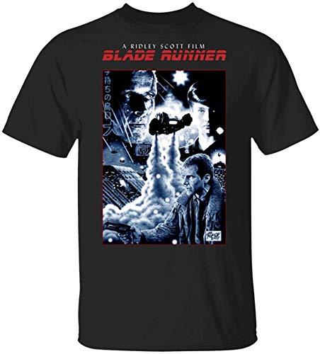 Rjsgdfjhs Cool Blade Runner Camiseta negra con póster de película retro Sitcom Blade Runner