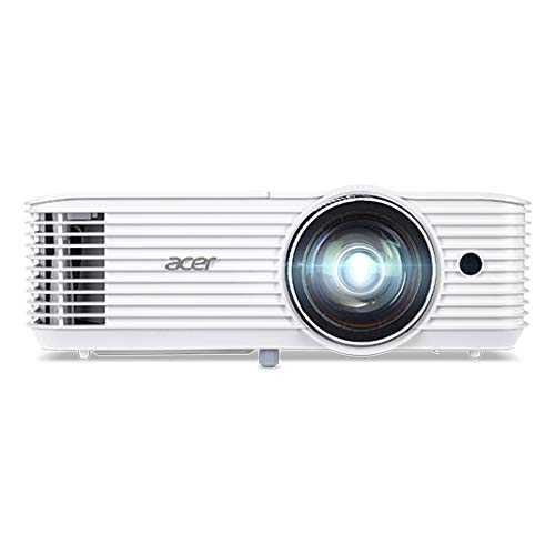 Acer S1386WH - DLP projector - 3D - 3600 ANSI lumens - WXGA (1280 x 800) - 16:10 - 720p - short-throw fixed lens