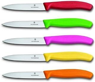 Victorinox Swissclassic - Juego de cuchillos para verdura (5 unidades, 8 cm), varios colores