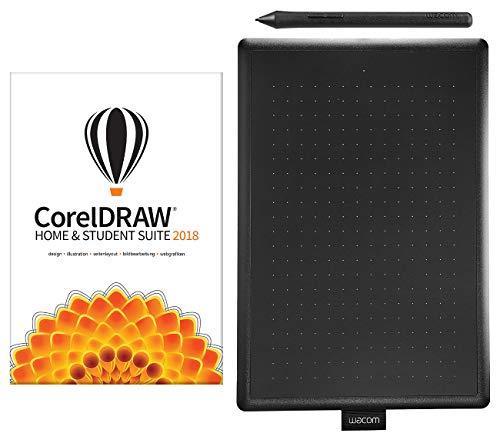 Corel CorelDraw Home & Student Suite 2018 inkl. Grafiktablett One by Wacom