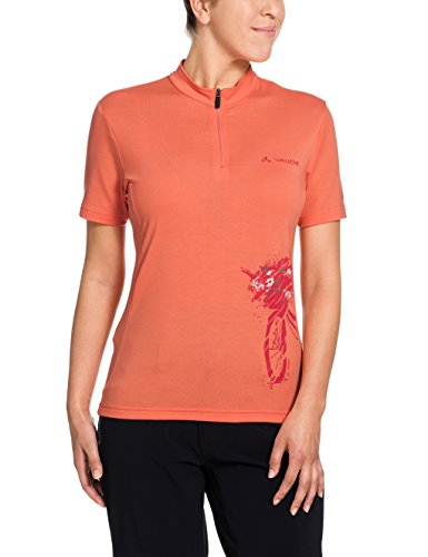 VAUDE Damen Trikot Women's Sentiero Shirt II, Apricot, 36, 08856
