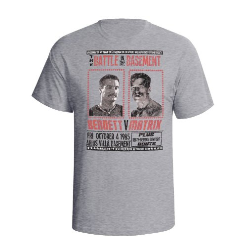 Bennett v Matrix Mens Movie Inspired Inspiré du film Fight t shirt