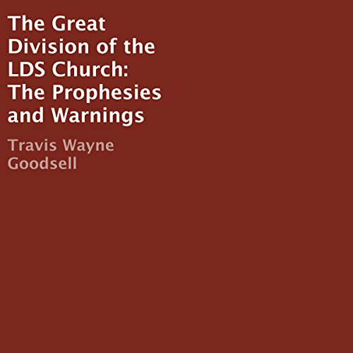 The Great Division of the LDS Church cover art