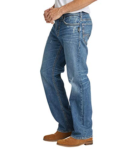 Men's Gordie Loose Fit Straight Leg Jeans 4