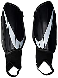 Flexible coating Strategic cushioning Impact absorption Included components: Nike Men's NK CHRG GRD Shin Guards, Black/Black/White, Small Sport type: Football