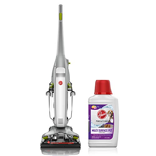 Hoover FloorMate Deluxe Hard Floor Cleaner with Paws & Claws 32oz Solution