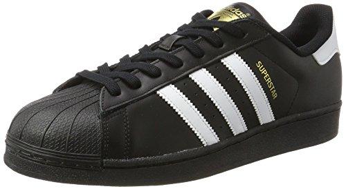 adidas Originals Superstar II Zapatillas para hombre, color Negro, talla 43.5 EU