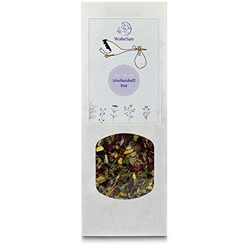 WobeSan Wochenbett Tee - für die erste Zeit direkt nach der Geburt - erlesene Kräutertee Mischung – von Hebamme entwickelt
