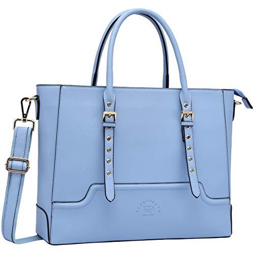 Laptop Tote Bag for Women, 17 Inch Computer Bag Business Office Briefcase Large Capacity Handbag Shoulder Bag Professional Office Work Bag