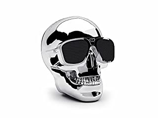 Jarre AeroSkull XS Bluetooth Speaker - Chrome Silver (B00GK9DCGY) | Amazon price tracker / tracking, Amazon price history charts, Amazon price watches, Amazon price drop alerts