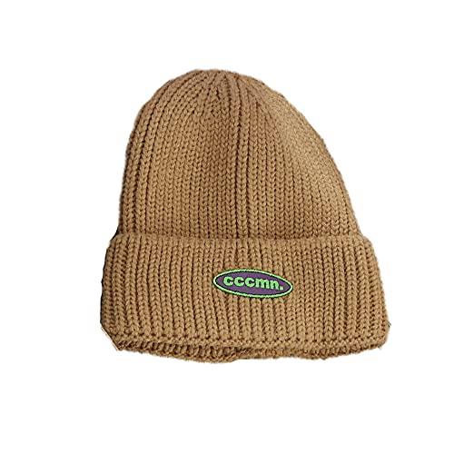 Kathlen Fleece Termal Fleece Forrado Cable de Punto Sombrero de Invierno Sombrero Punto Beanie Merino Sombrero Sombrero de Invierno para Mujeres Newsboy Cap Baker Boy Hat