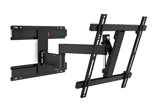 Vogel'S Wall 2246 - TV Wandhalterung für 32-55 Zoll Fernseher, Wandhalter, Schwenkbar & Neigbar bis 180°, Fernsehhalterung für die Wand, VESA 400 x 400, Universelle Kompatibilität, Bolzenbefestigung
