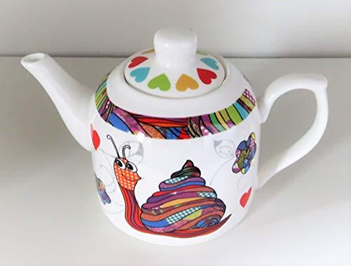 Kanne Schnecke Teekanne Kaffeekanne