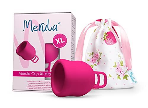Merula Cup XL strawberry (pink) – Die Menstruationstasse für die sehr starken Tage