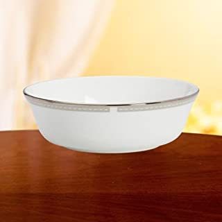 Lenox Murray Hill Platinum Banded Bone China All Purpose Bowl door Lenox