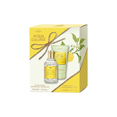 Acqua Colonia 4711 Lemon & Ginger Ensemble de gel douche 50 ml à 75 ml