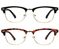 ComputerReading Glasses Blue Light Blocking Reduce Eyestrain forComputer and Screens for Men and Women