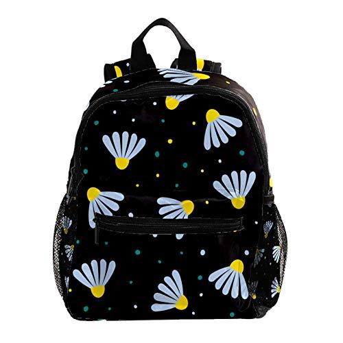 Cartella Camomilla Zaino da viaggio per bambini Stampa creativa Backpack Mini Zaino scuola 3-8 anni Cartella 25.4x10x30CM