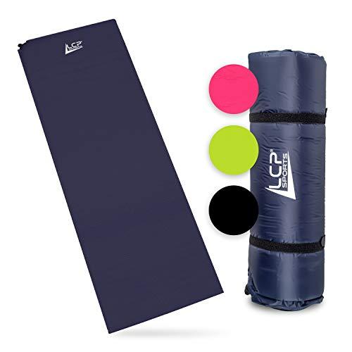 LCP Sports Selbstaufblasbare Luftmatratze Camping Isomatte 200x66x6 cm Outdoor Thermomatte selbstaufblasend