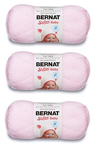 Bernat 166030-2001 Softee Baby Yarn - Solids - Pink