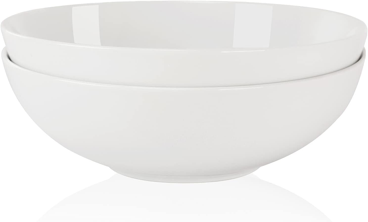Ceramic Salad 40% New sales OFF Cheap Sale Bowls Set Procelain Large 9.5'' Serving Bo