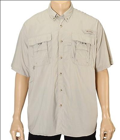 Columbia Bahama II Short Sleeve Shirt (Fossil) Men